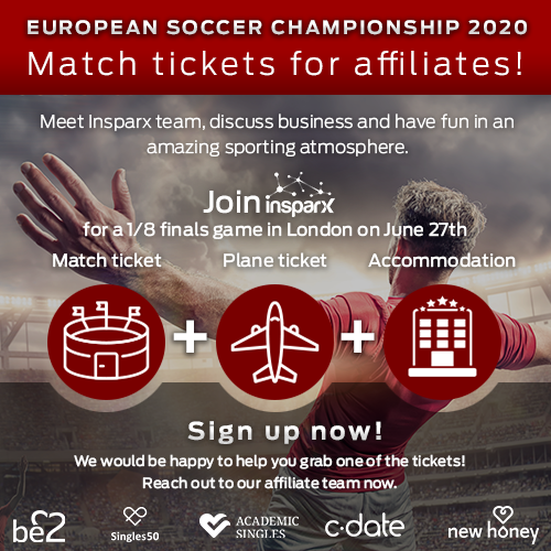 Tickets for European Soccer Championship 2020